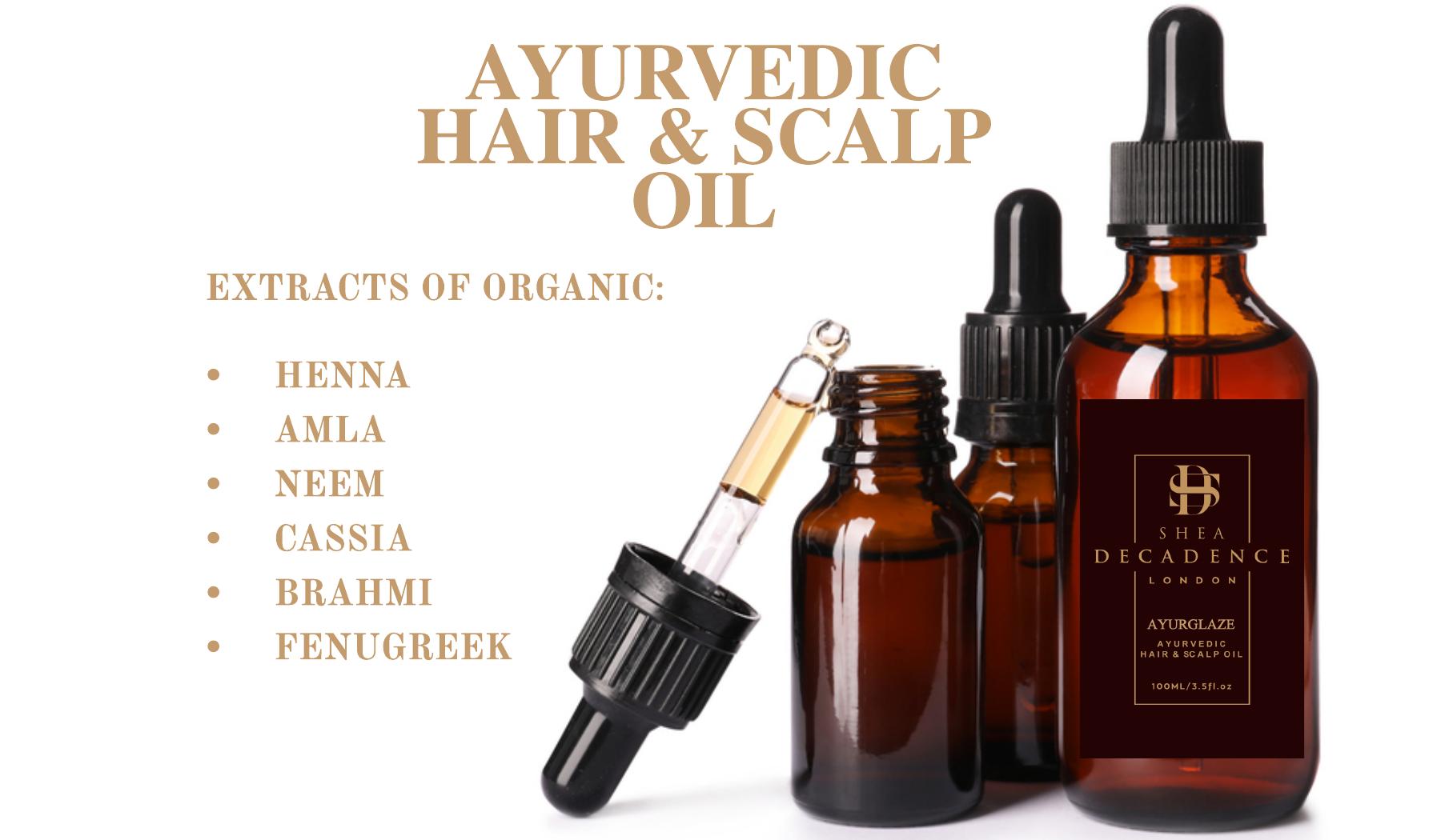 Ayurvedic scalp oil